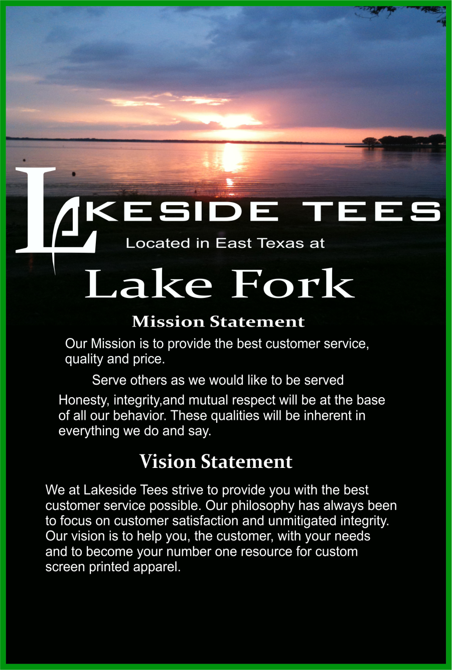 mission / vision statement
