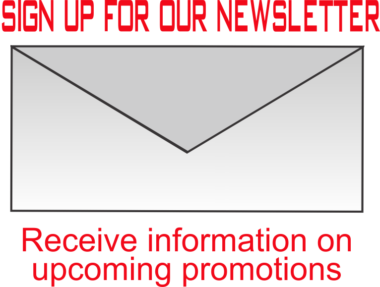Newsletter, custom apparel specials